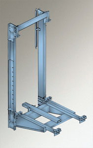 Cantilevered Telescopic Holeless Hydraulic Elevator Mvt Inc